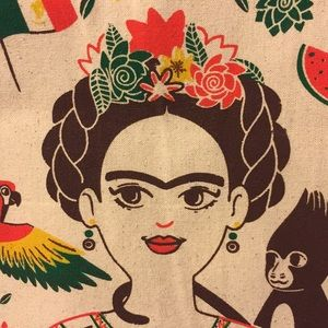 "Handbags - Frida Kahlo tote - ""Little Guides to Great Lives"""